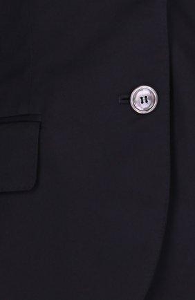 Приталенный жакет на пуговицах с карманами Dolce & Gabbana черный | Фото №3