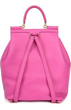 Кожаный рюкзак с клапаном Sicily Backpack | Фото №2