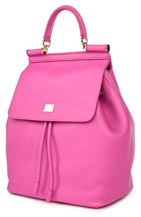 Кожаный рюкзак с клапаном Sicily Backpack | Фото №3