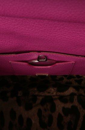 Кожаный рюкзак с клапаном Sicily Backpack | Фото №5