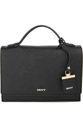 Кожаная сумка Bryant Park с клапаном и ручкой   Фото №1