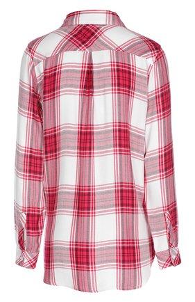 Женская блуза прямого кроя в клетку с накладным карманом Rails, цвет синий, арт. RWSP16550 в ЦУМ   Фото №1