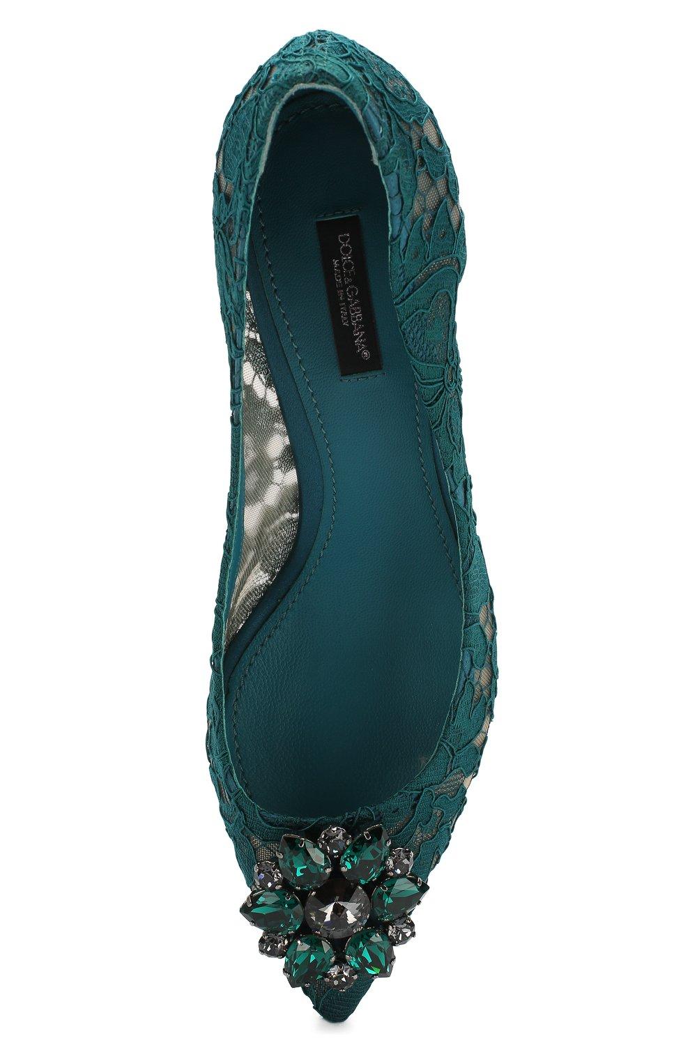 Текстильные туфли Rainbow Lace   Фото №5
