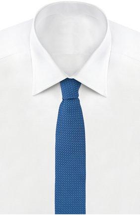 Шелковый вязаный галстук | Фото №2