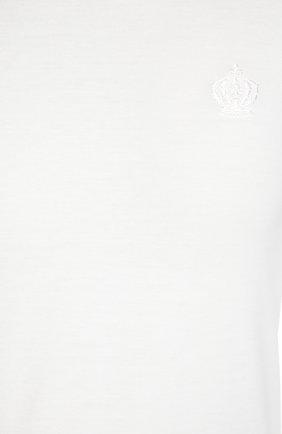 Лонгслив с круглым вырезом   Фото №3