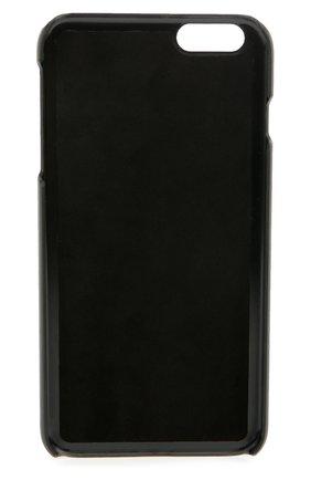 Кожаный чехол для iPhone 6 Plus с принтом Dolce & Gabbana    Фото №2