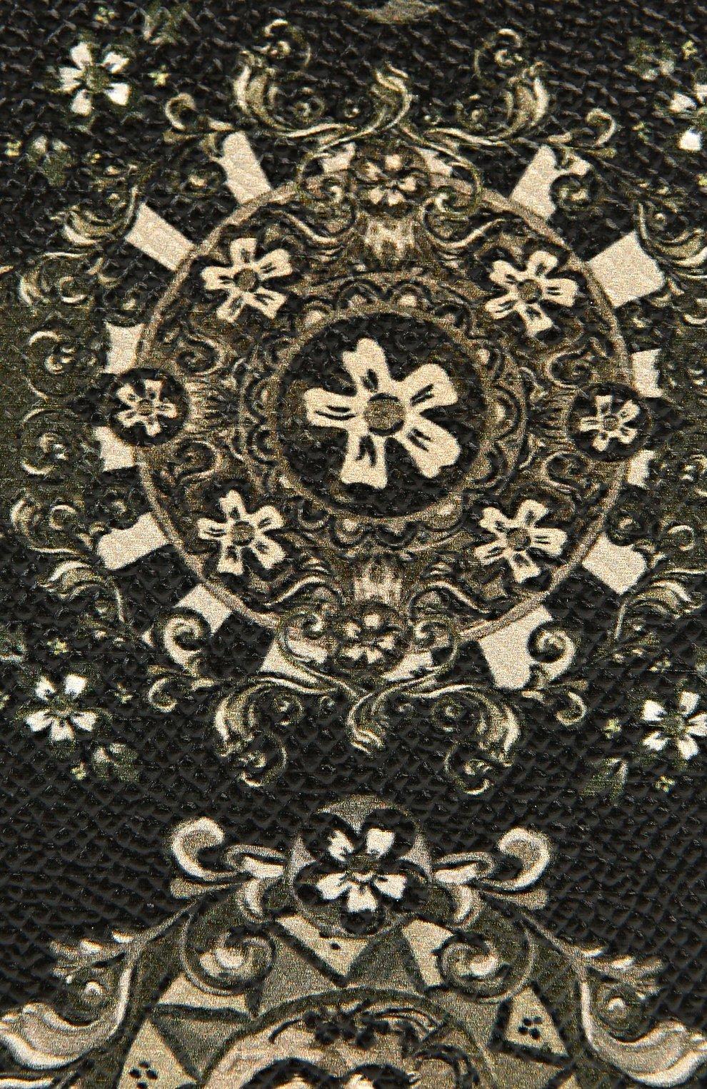 Кожаный чехол для iPhone 6 Plus с принтом Dolce & Gabbana    Фото №3