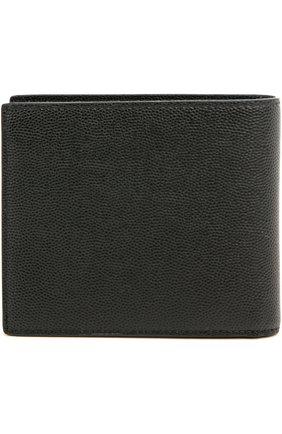 Мужской кожаное портмоне paris SAINT LAURENT черного цвета, арт. 396307/BTY0N | Фото 2