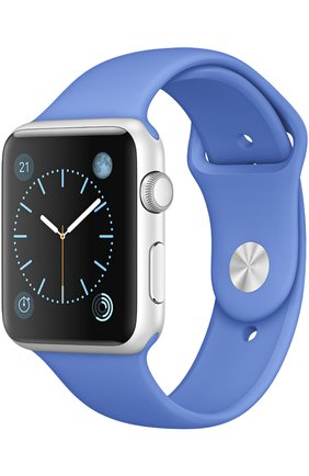 Apple Watch Sport 42mm Silver Aluminum Case   Фото №1