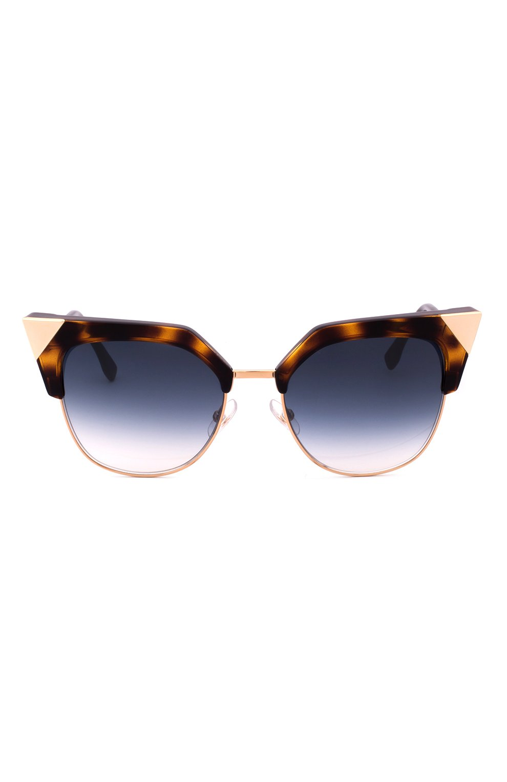 Женские солнцезащитные очки FENDI синего цвета, арт. 0149 TLW   Фото 1