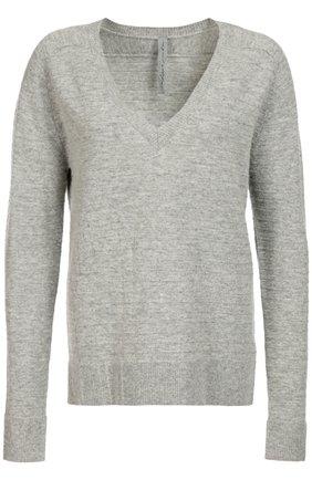 Пуловер свободного кроя с V-образным вырезом | Фото №1
