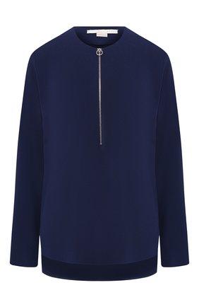 Женская блузка из вискозы STELLA MCCARTNEY темно-синего цвета, арт. 341360/SCA06 | Фото 1