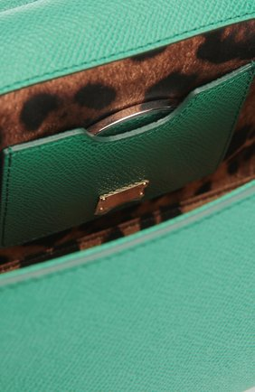 Сумка Sicily small Dolce & Gabbana зеленая цвета   Фото №4