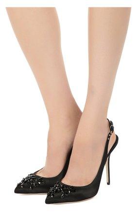 Текстильные туфли Bellucci с декором | Фото №2