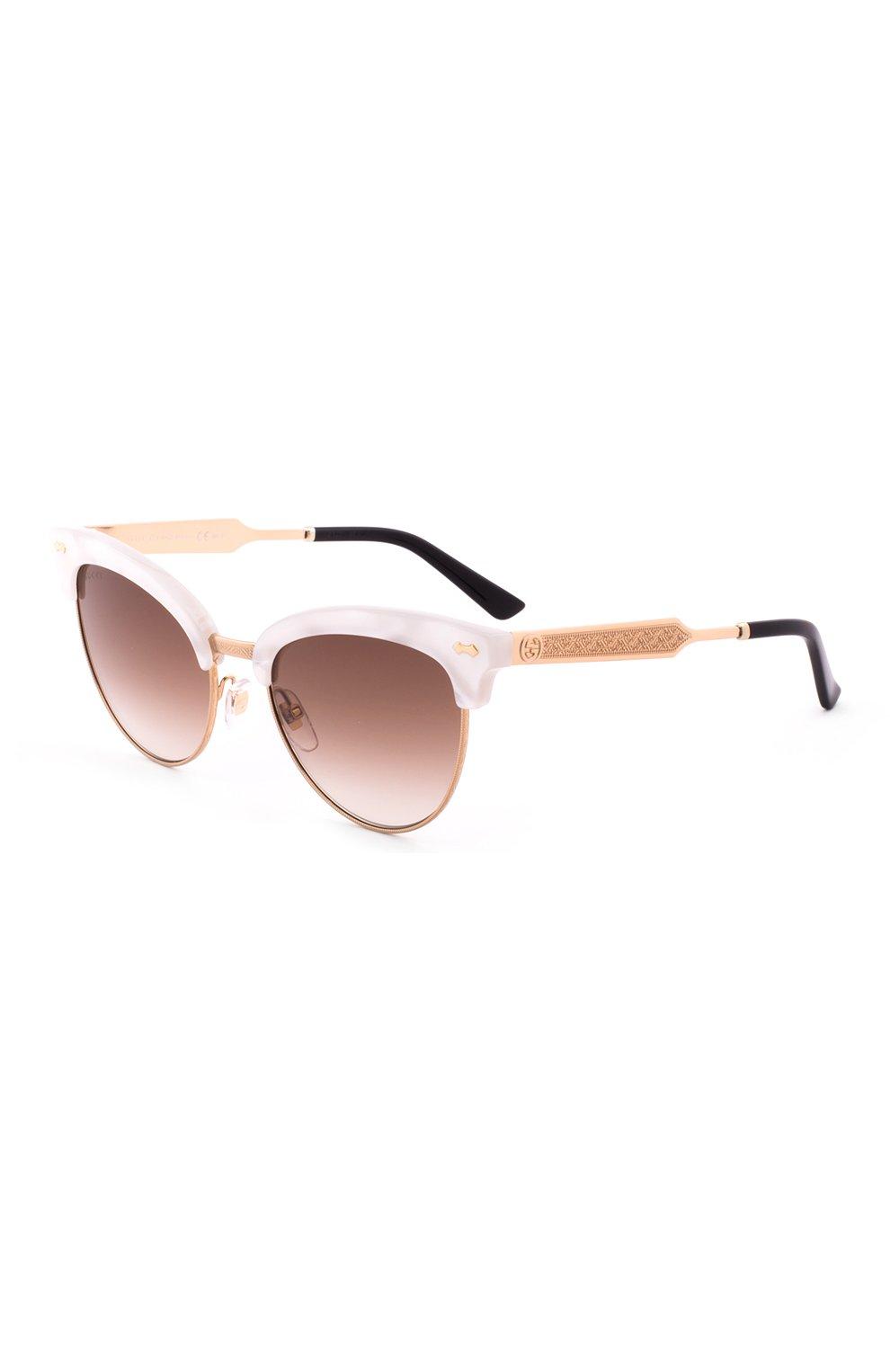 Женские солнцезащитные очки GUCCI розового цвета, арт. 4283 U29   Фото 2