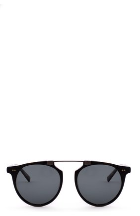 Солнцезащитные очки John Varvatos черные | Фото №1