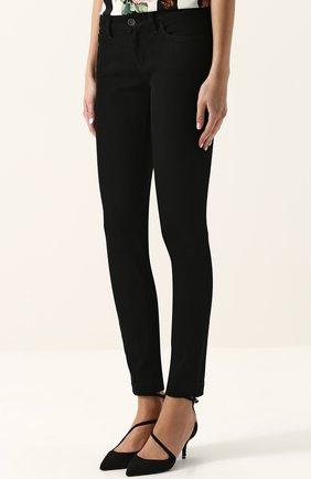 Укороченные джинсы-скинни | Фото №3
