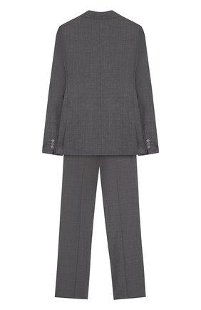 Шерстяной костюм с пиджак на двух пуговицах   Фото №2