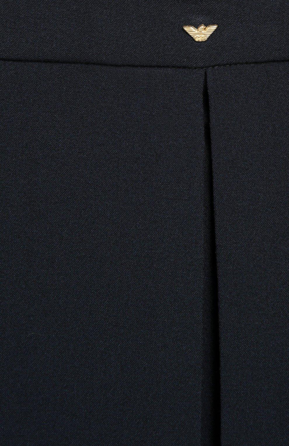 Прямая юбка со складками | Фото №2