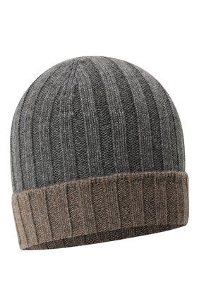 Мужская кашемировая шапка GRAN SASSO серого цвета, арт. 13165/15562 | Фото 1