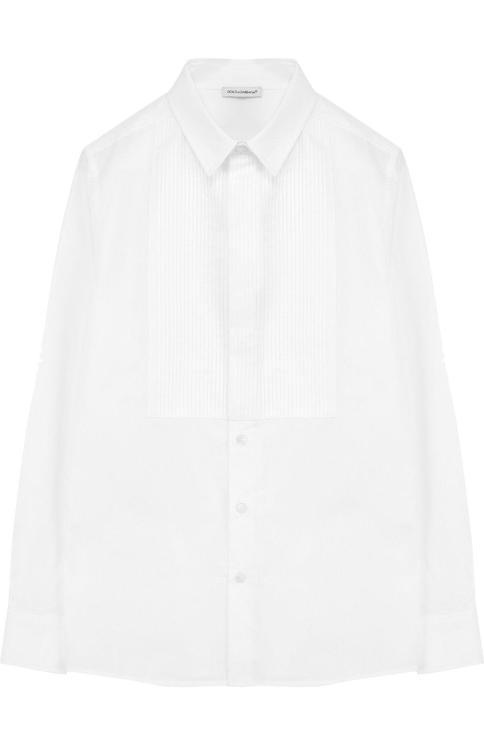 Хлопковая сорочка под смокинг   Фото №1
