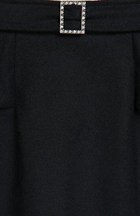 Юбка с оборками и брошью | Фото №3
