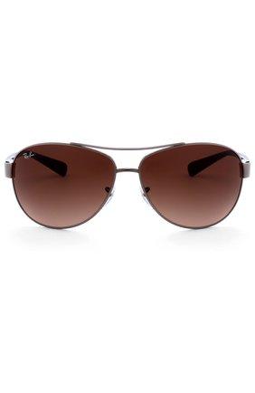 Мужские солнцезащитные очки RAY-BAN темно-коричневого цвета, арт. 3386-004/13 | Фото 1