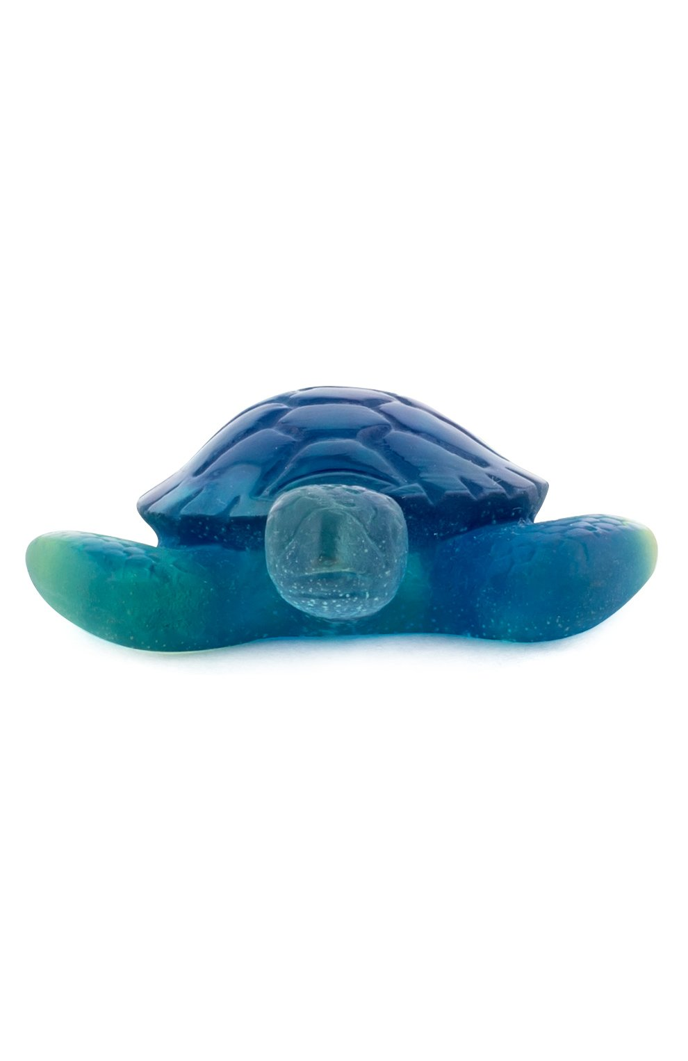 Мужского статуэтка черепаха DAUM голубого цвета, арт. 02690-10 | Фото 2