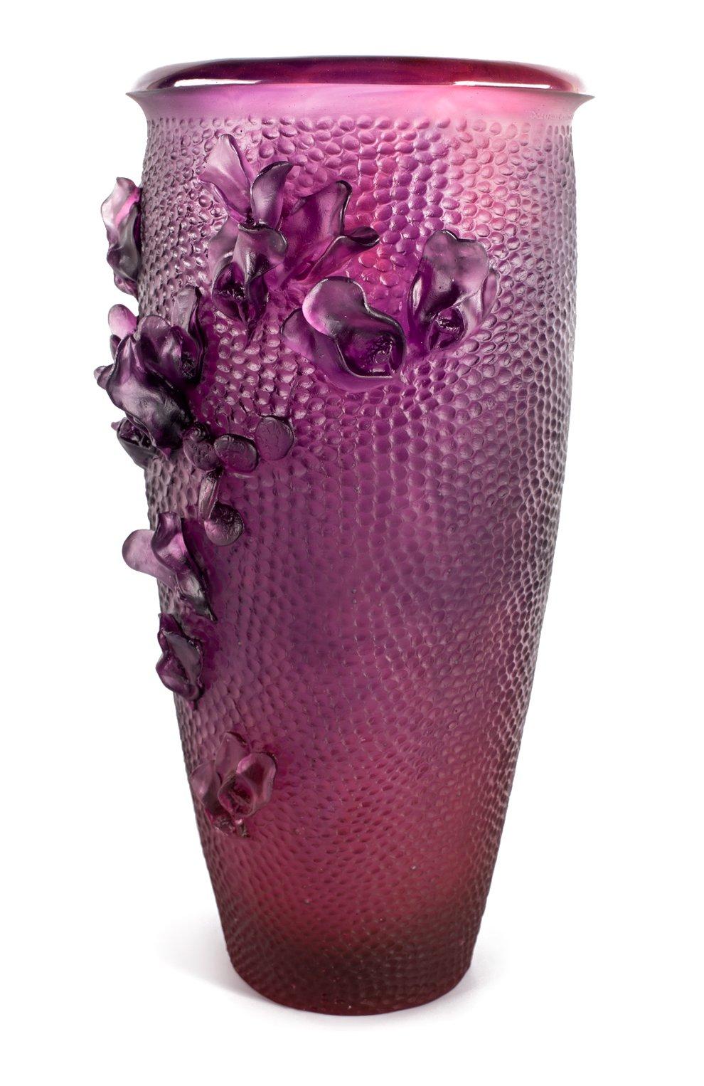 Мужского ваза magnum DAUM фуксия цвета, арт. 05412-1 | Фото 2