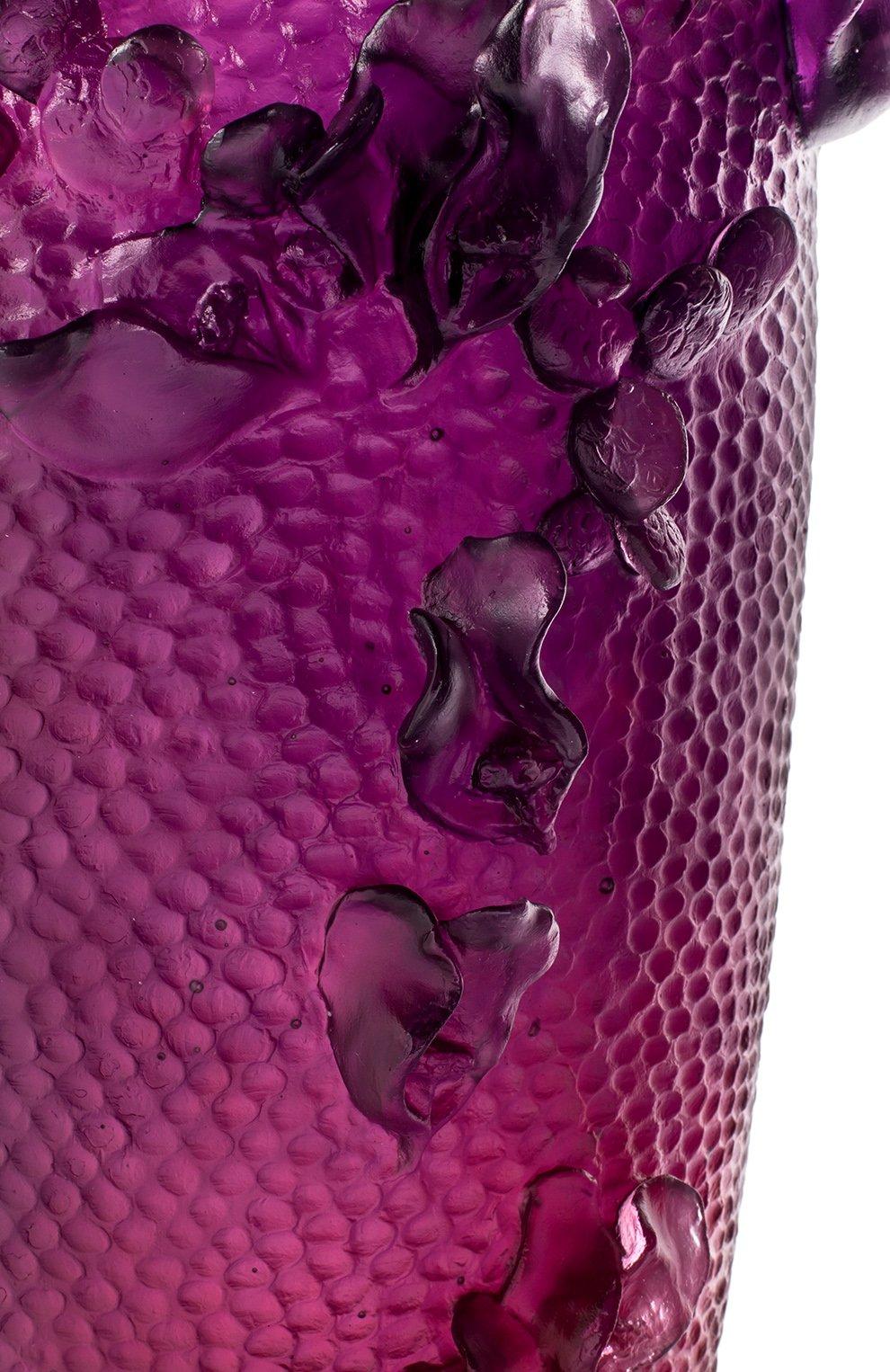 Мужского ваза magnum DAUM фуксия цвета, арт. 05412-1 | Фото 3