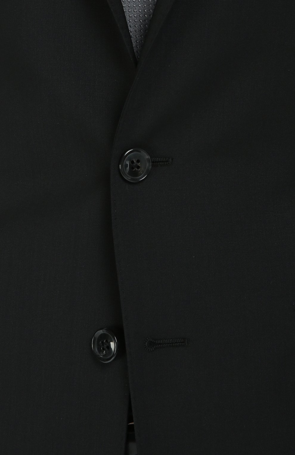 Шерстяной приталенный костюм   Фото №7