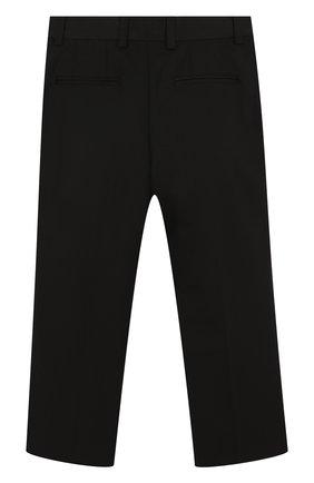 Детский смокинг из смеси шерсти и шелка Dolce & Gabbana черного цвета | Фото №4