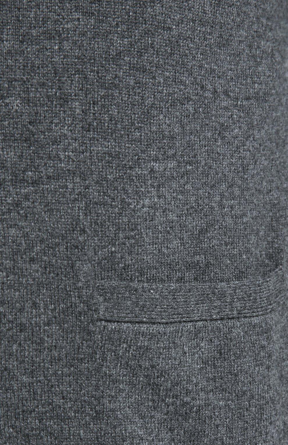 Шерстяной кардиган с карманами | Фото №5