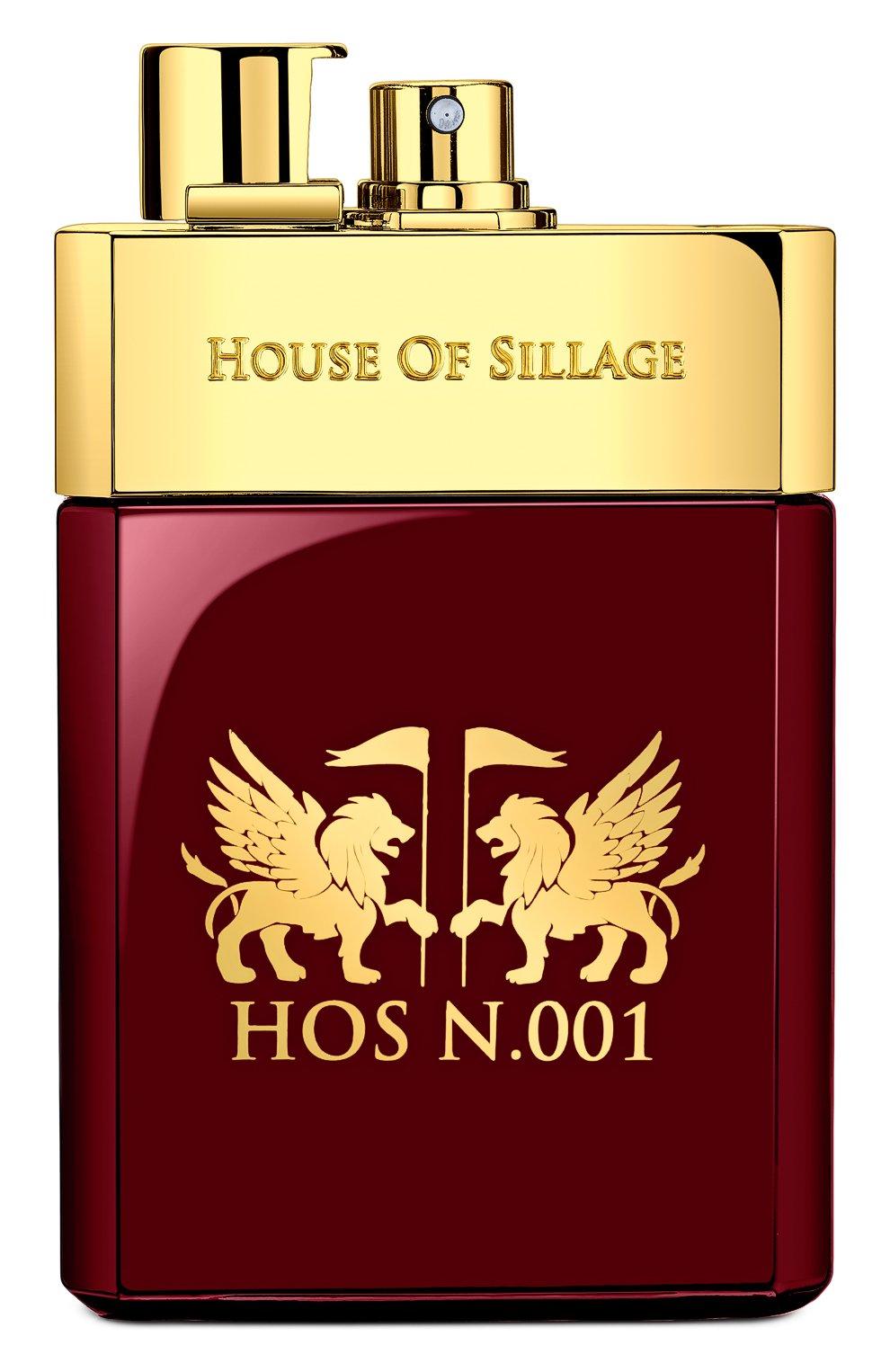 Мужской парфюмированная вода hos n.001 HOUSE OF SILLAGE бесцветного цвета, арт. 857956003896 | Фото 2