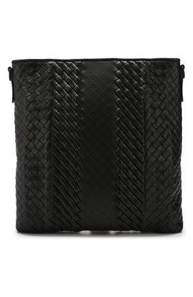Кожаная сумка-планшет с плетением Imperatore   Фото №1