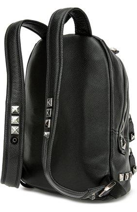 Кожаный рюкзак Recruit с металлическими шипами   Фото №2