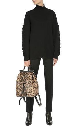 Рюкзак Sicily с леопардовым принтом Dolce & Gabbana леопардовый | Фото №2