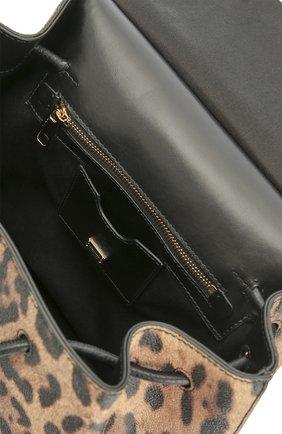 Рюкзак Sicily с леопардовым принтом Dolce & Gabbana леопардовый | Фото №4