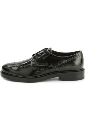 Кожаные ботинки Gomma с перфорацией | Фото №1