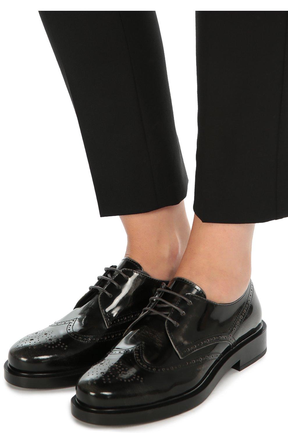 Кожаные ботинки Gomma с перфорацией | Фото №2