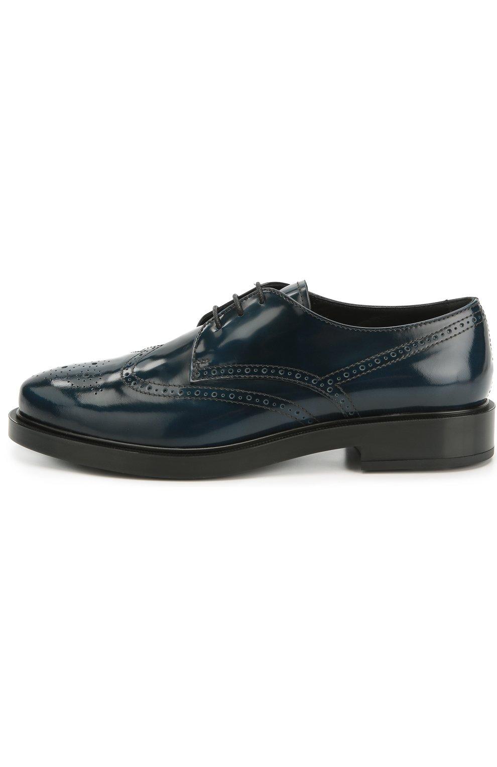 Кожаные ботинки Gomma с перфорацией   Фото №1