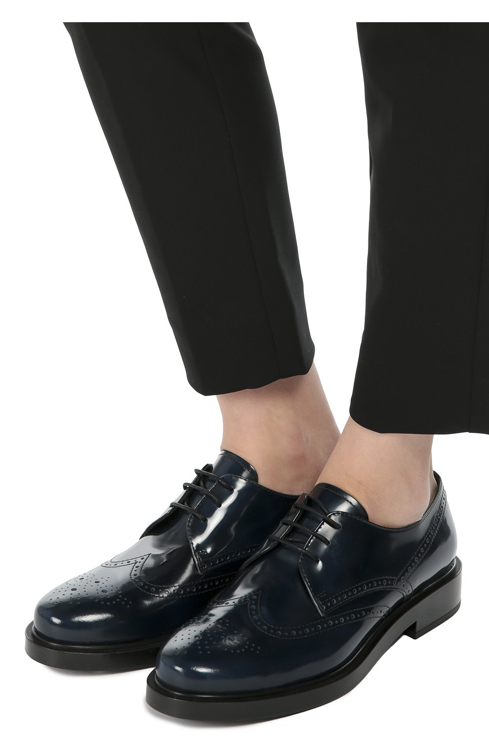 Кожаные ботинки Gomma с перфорацией   Фото №2