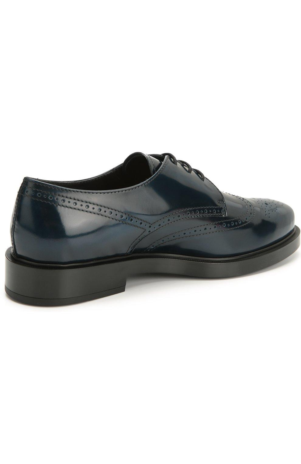 Кожаные ботинки Gomma с перфорацией   Фото №4