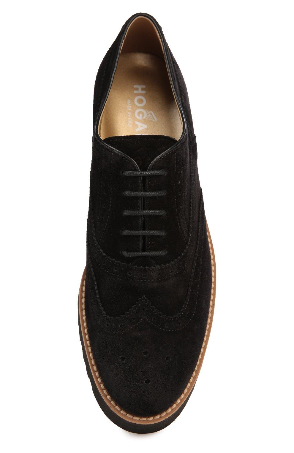 Замшевые ботинки с перфорацией | Фото №5