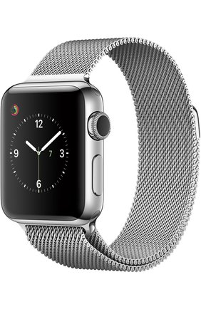 708c8bf1 Apple Watch Series 2 38mm Silver Stainless Steel Case with Milanese Loop |  Фото №1