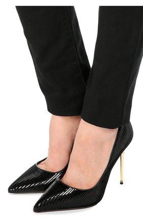 Туфли Metal Heel с пайетками   Фото №2