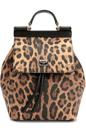 Рюкзак Sicily с леопардовым принтом | Фото №1