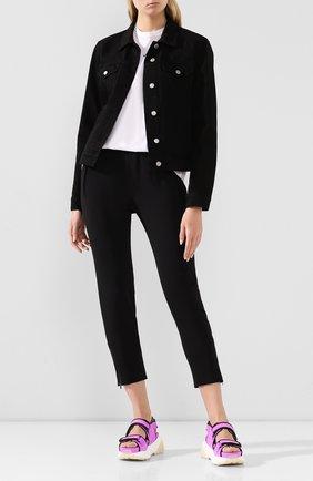 Женские брюки STELLA MCCARTNEY черного цвета, арт. 358300/SCA06 | Фото 2