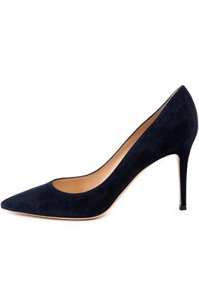 Замшевые туфли Gianvito 85 на шпильке | Фото №1