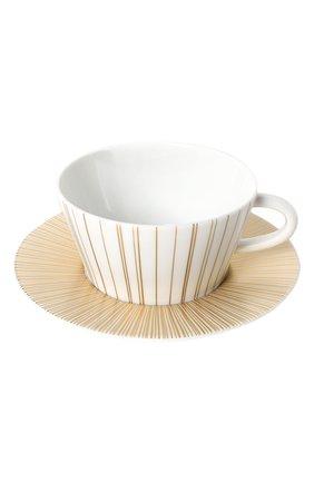 Чайная чашка с блюдцем Sol | Фото №1